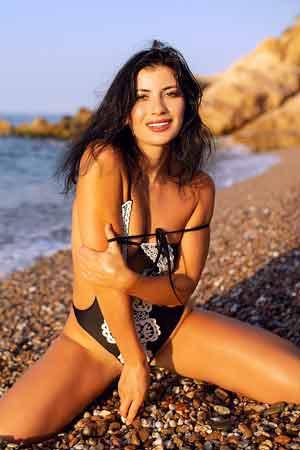 Venezuelan bikini woman